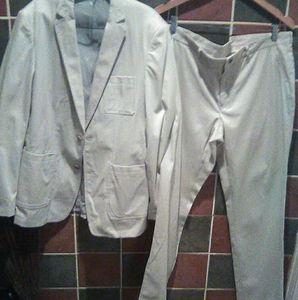 Zara mens tailored suit